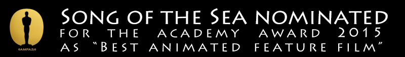Song of the Sea nominated for the Academey Awards in the category of Best Animated Feature Film 2015